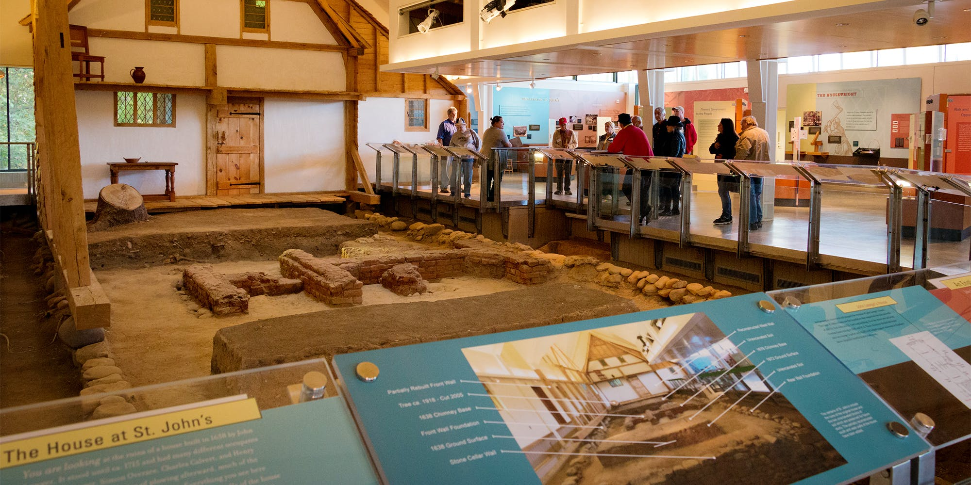 St. John's Site Museum is a premiere museum of archaeology, and rare opportunity to see a partially excavated and preserved site.