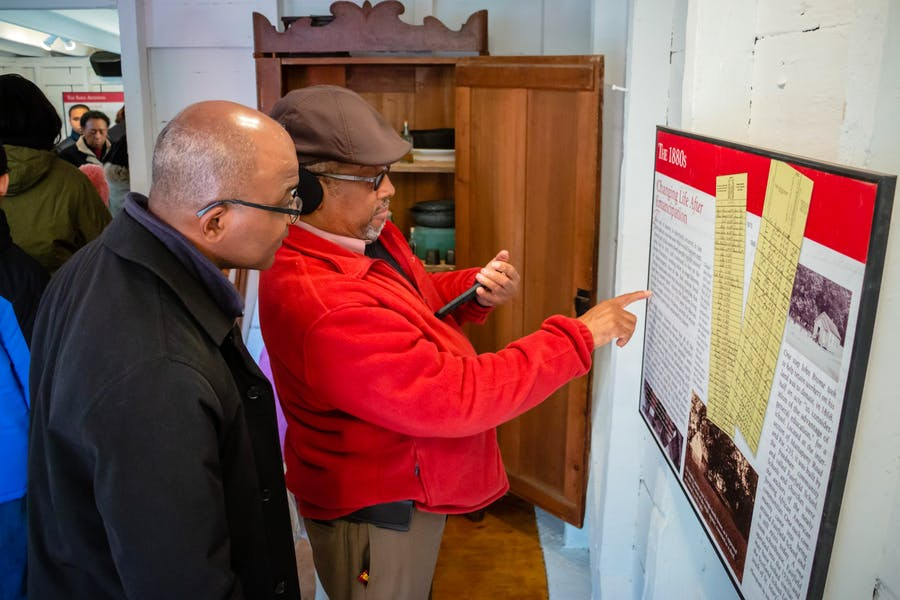 The Struggle for Freedom Exhibit at the Brome Quarter