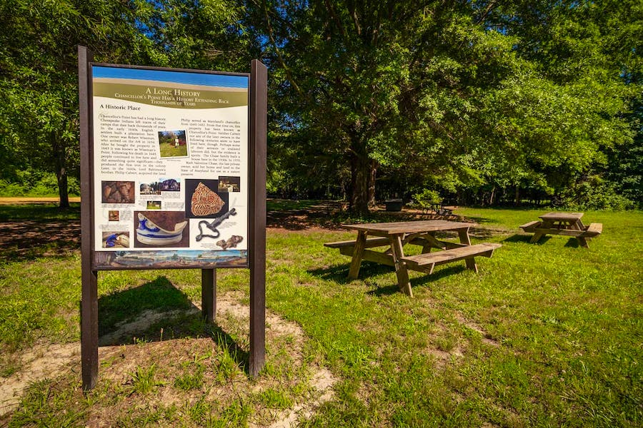 Picnic Areas - Chancellor's Point