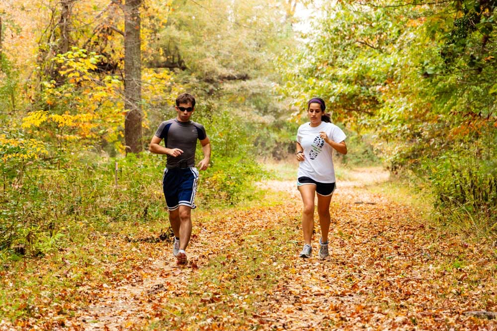 HSMC offers over three miles of trails for walking or hiking