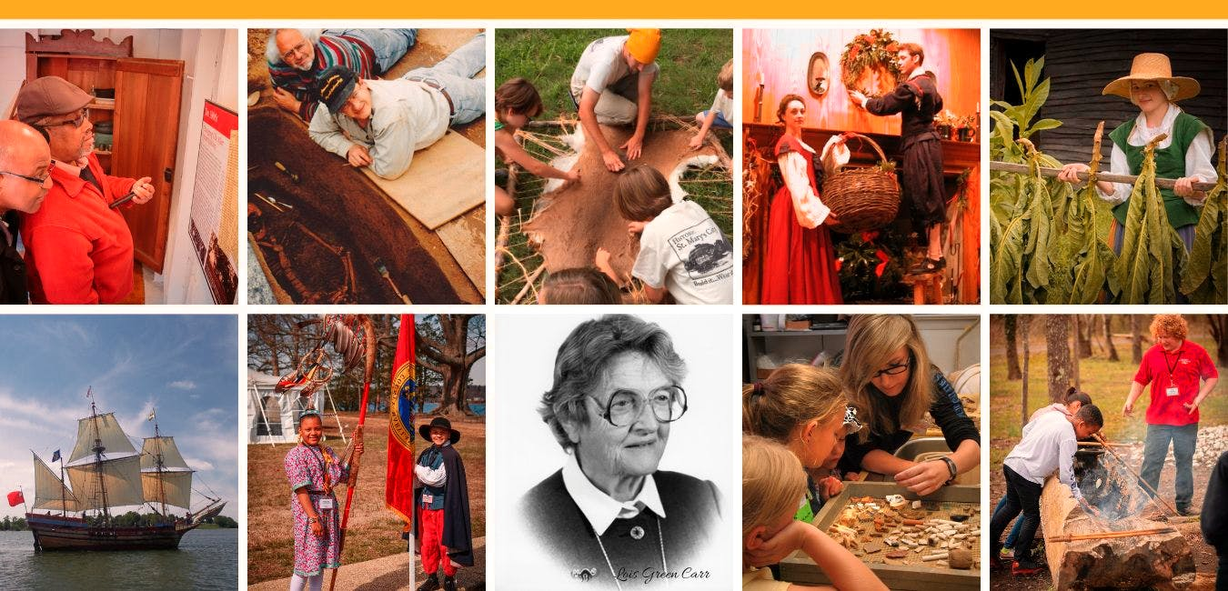 Historic St. Mary's City is an outdoor living history museum, offering education and enjoyment for all ages