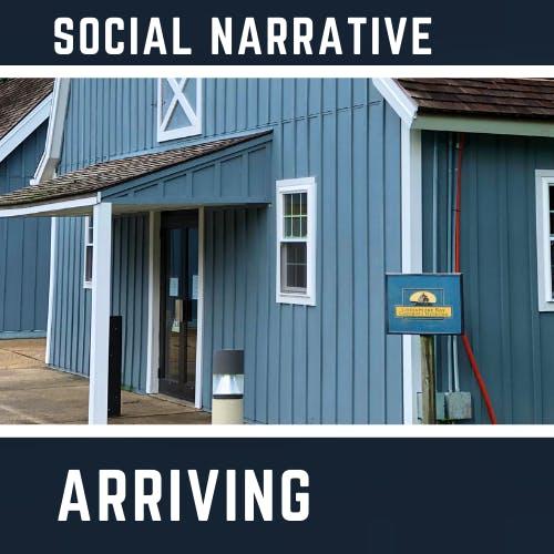 Social Narrative - Arriving for your Tour