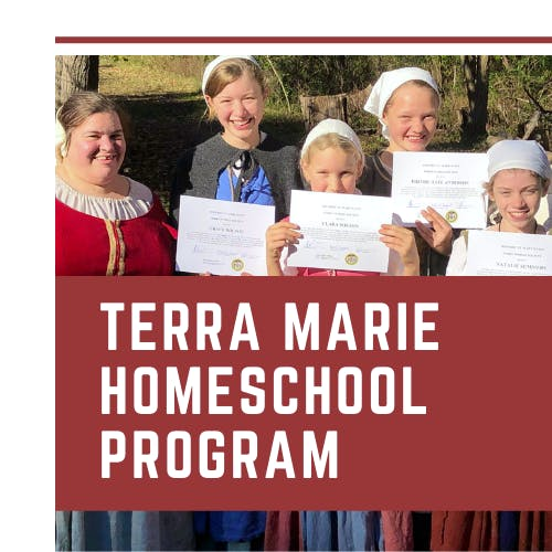 Historic St. Mary's City - Terra Mariae Society Information Packet